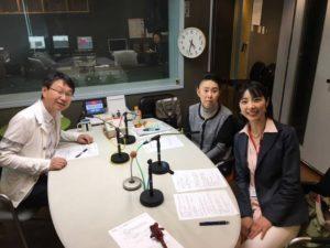 ラジオ大阪 崎元先生出演!