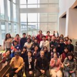2017年12月23日(土・祝)第1回神戸アイセンター椅子ヨガ チャレンジド・ヨガ 集合写真