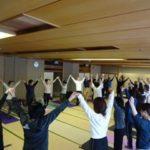 クラス全体写真 静岡県浜松チャレンジド・ヨガ